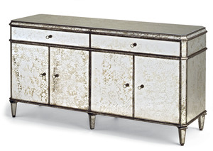 Thumbnail of Currey & Company - Antiqued Mirror Credenza