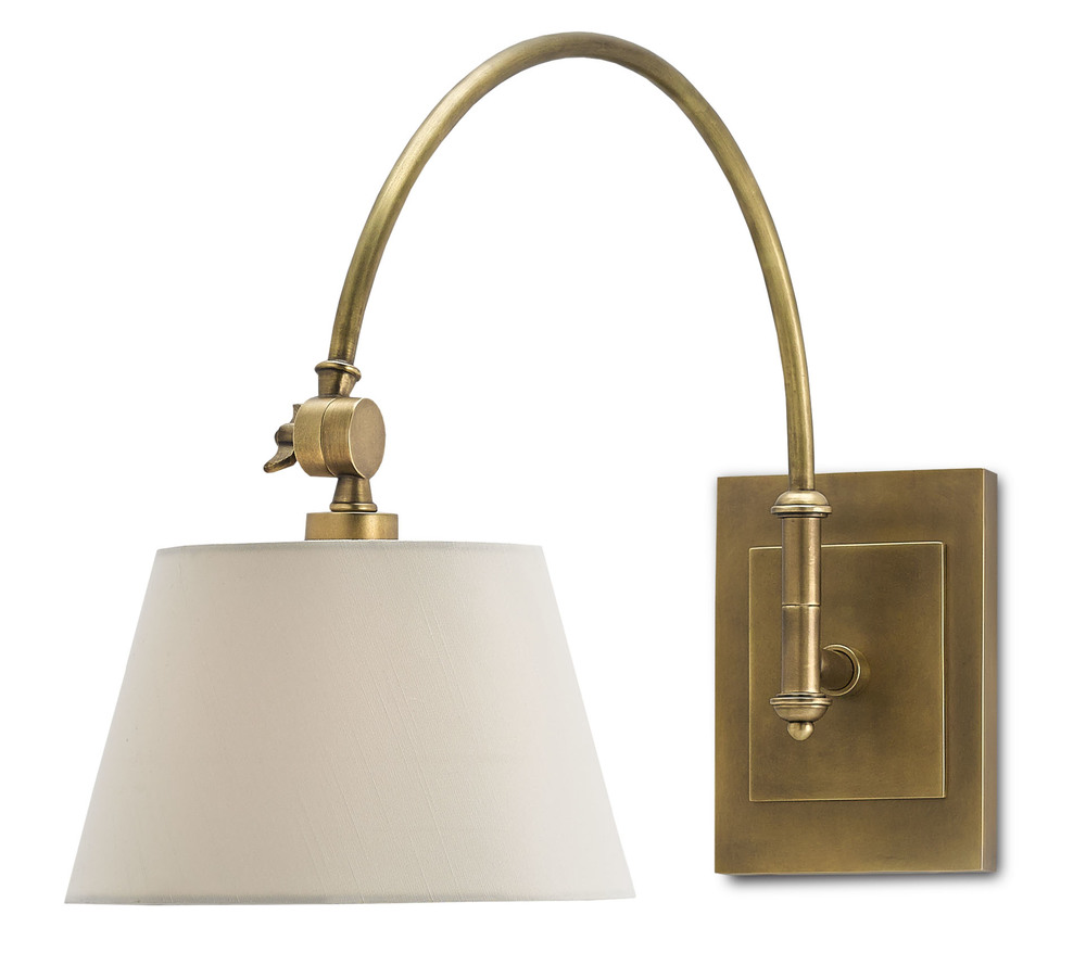 Currey & Company - Ashby Swing-Arm Sconce