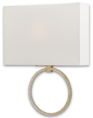 Thumbnail of Currey & Company - Porthole Silver Wall Sconce