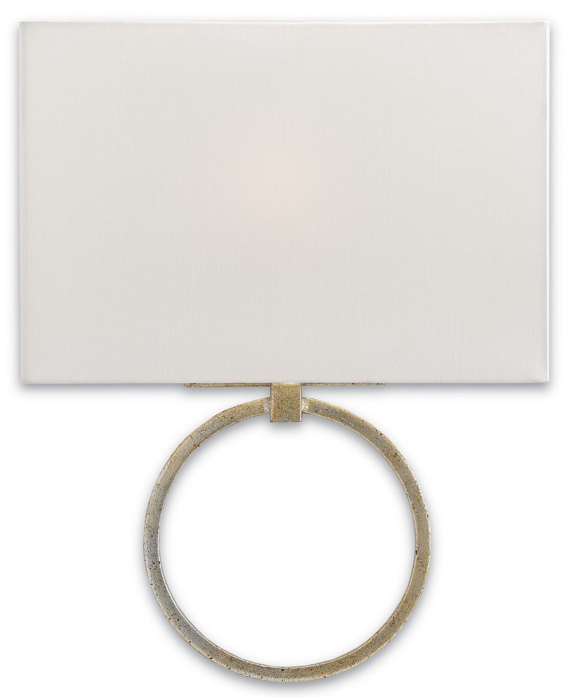 Currey & Company - Porthole Silver Wall Sconce