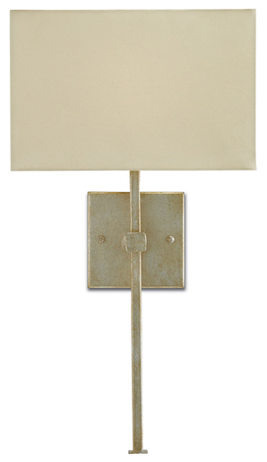 Thumbnail of Currey & Company - Ashdown Silver Wall Sconce