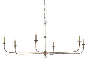 Thumbnail of Currey & Company - Nottaway Bronze Large Chandelier