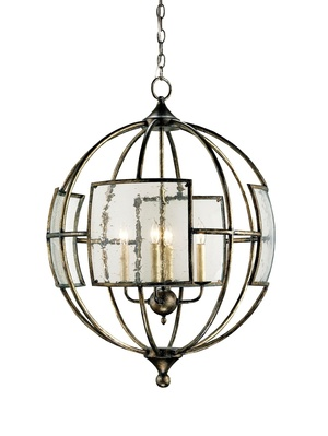 Thumbnail of Currey & Company - Broxton Bronze Orb Chandelier