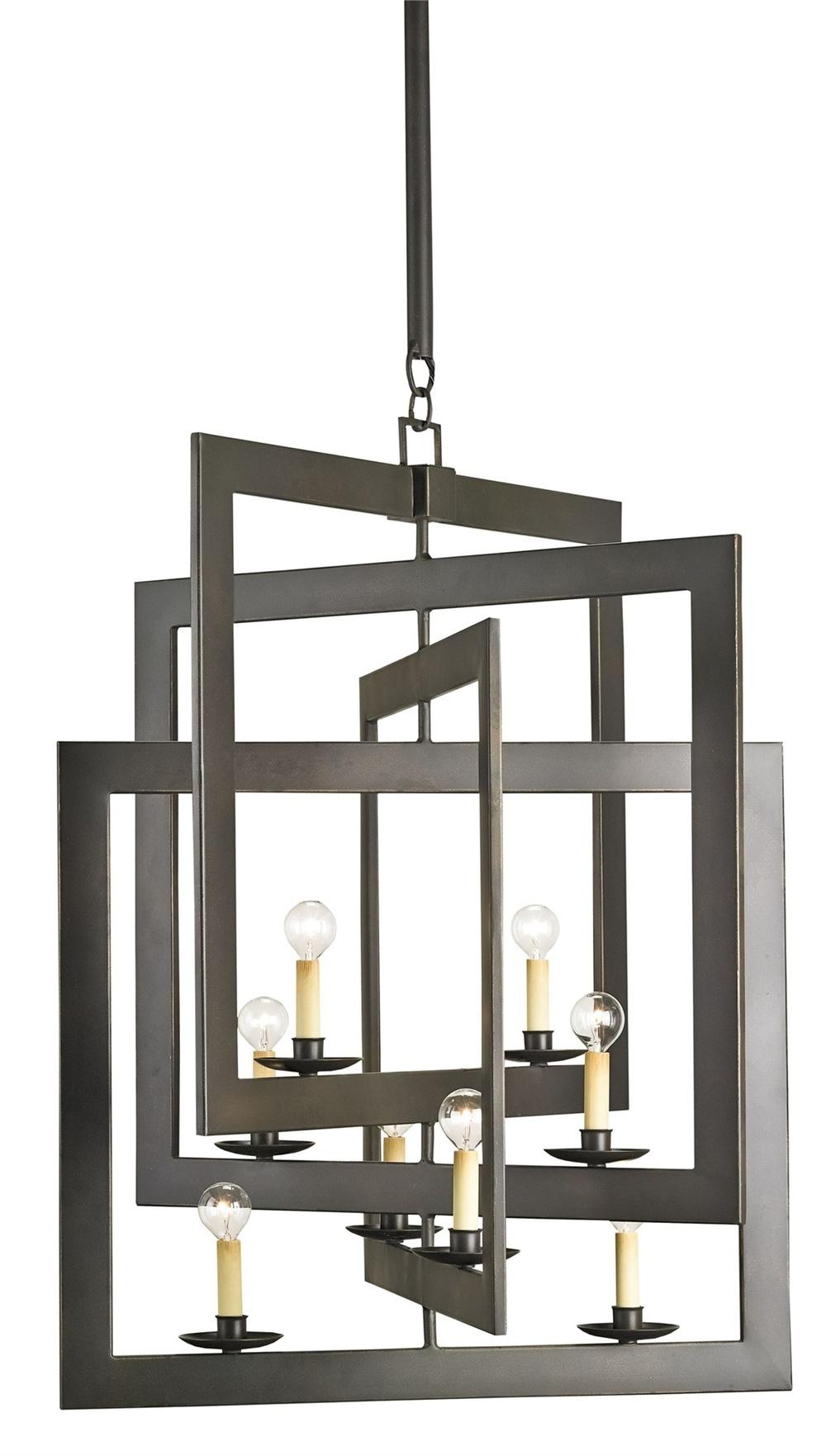 Currey & Company - Middleton Bronze Chandelier