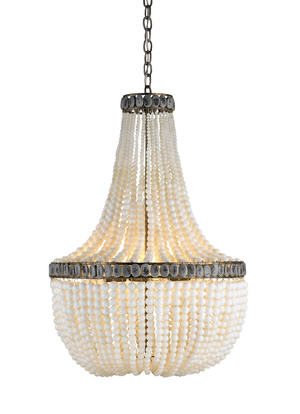 Thumbnail of Currey & Company - Hedy Cream Chandelier