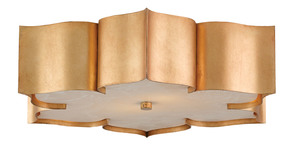 Thumbnail of Currey & Company - Grand Lotus Gold Flush Mount