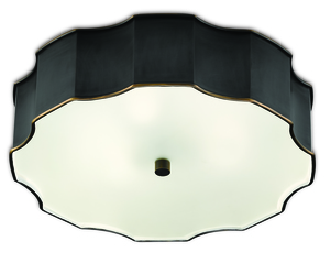 Thumbnail of Currey & Company - Wexford Bronze Flush Mount