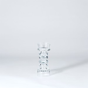 Thumbnail of GLOBAL VIEWS - Glass Ribbed Candle