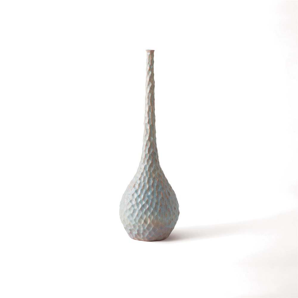 GLOBAL VIEWS - Chiseled Bird's Egg Vase