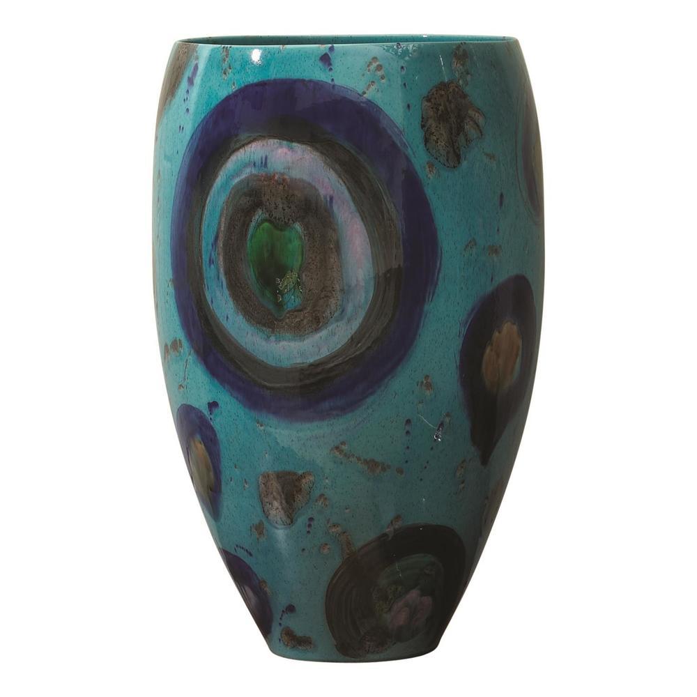 GLOBAL VIEWS - Blue Spots Vase