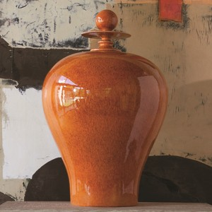 Thumbnail of Global Views - Happy Temple Jar