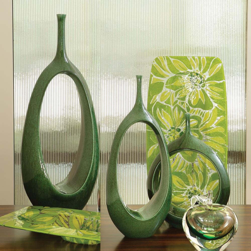 GLOBAL VIEWS - Medium Open Ring Vase