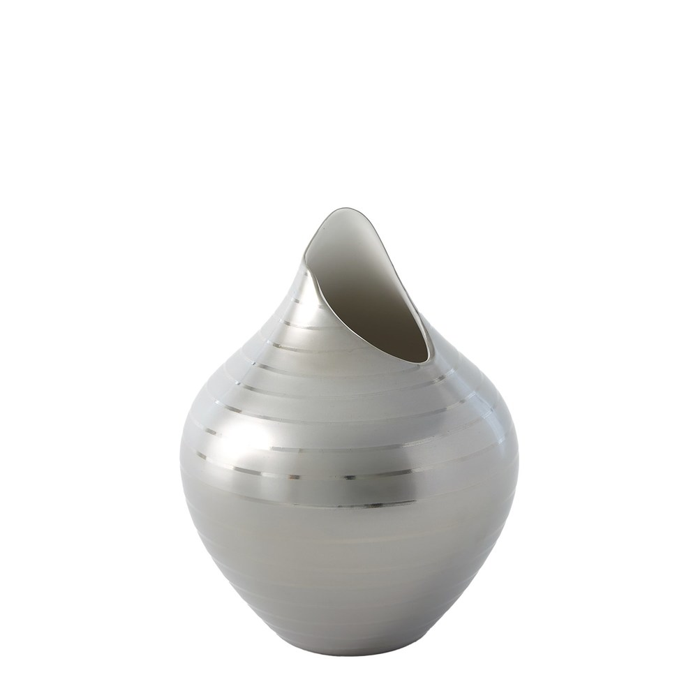 Global Views - Platinum Stripe Vase