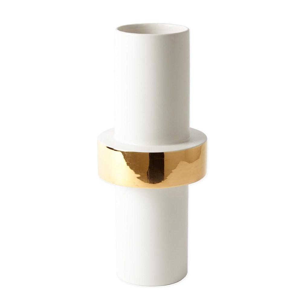 Global Views - Gold Ring Vase, Mid