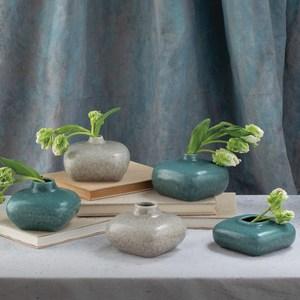 Thumbnail of Global Views - Modernist Vase, Azure, Short