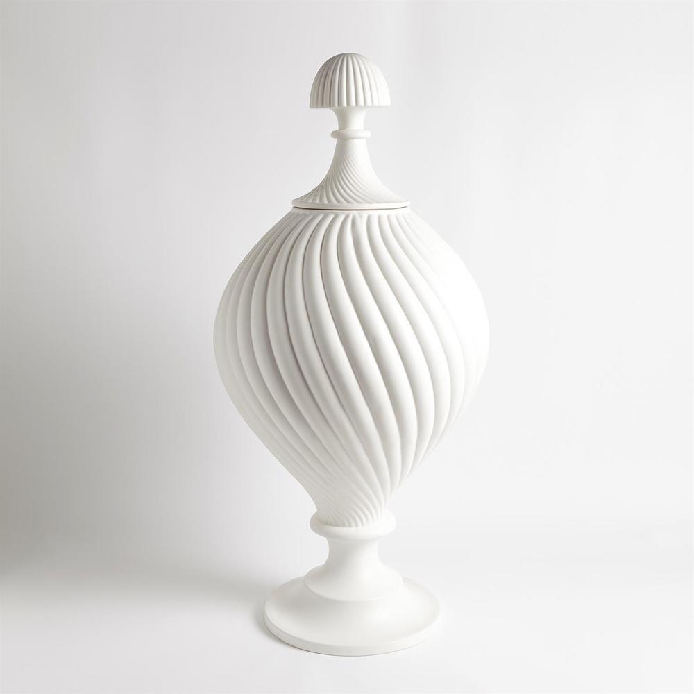 Global Views - Grande Swirl Jar