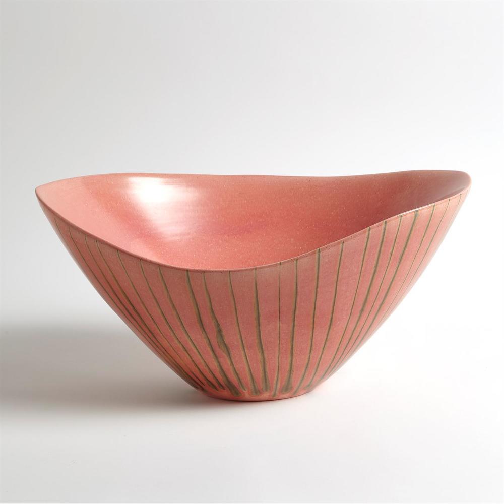 GLOBAL VIEWS - Striped Melon Bowl