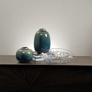 Thumbnail of Global Views - Tidal Vase, Ball