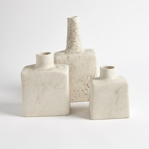 Thumbnail of Global Views - Tall Stack Bottle, Reactive Ivory, Large