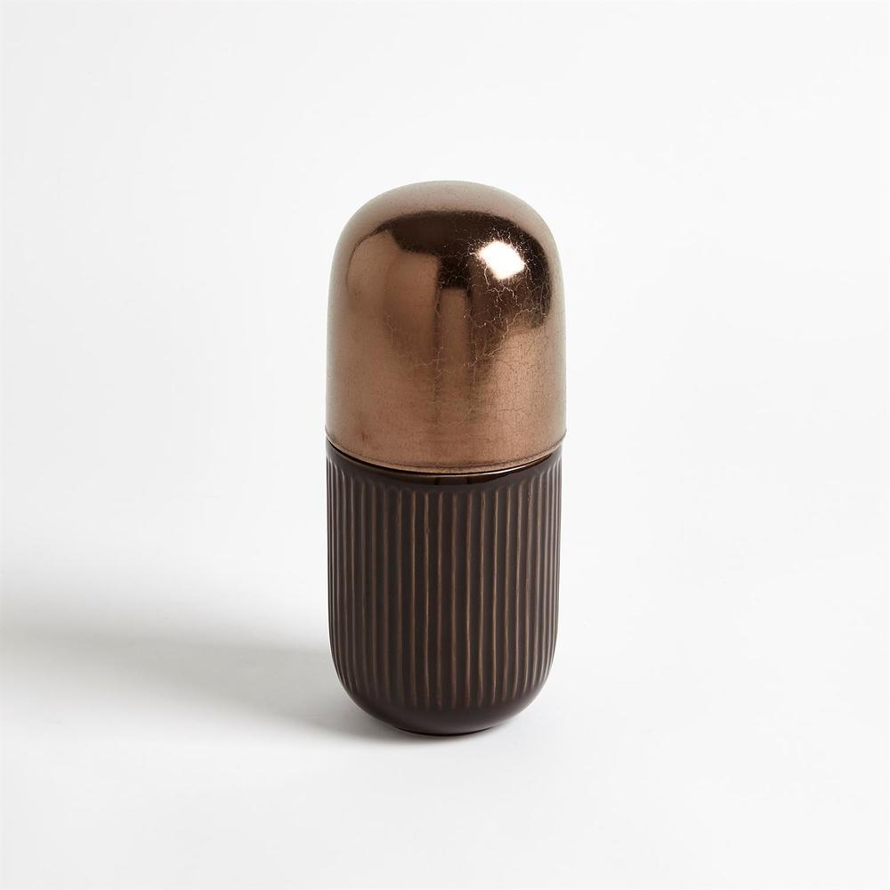 GLOBAL VIEWS - Capsule Lidded Jar