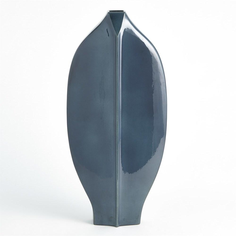 GLOBAL VIEWS - Center Ridge Vase, Large