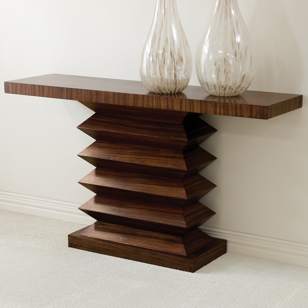 Global Views - Zig Zag Console Table