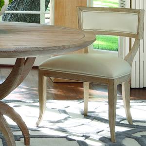 Thumbnail of GLOBAL VIEWS - Klismos Chair, Beige Leather