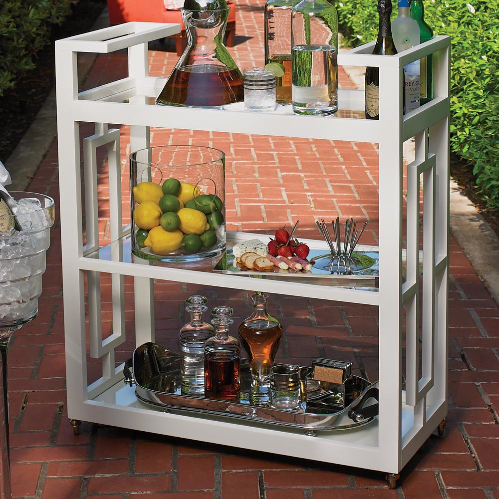 Global Views - Grid Block Bar Cart