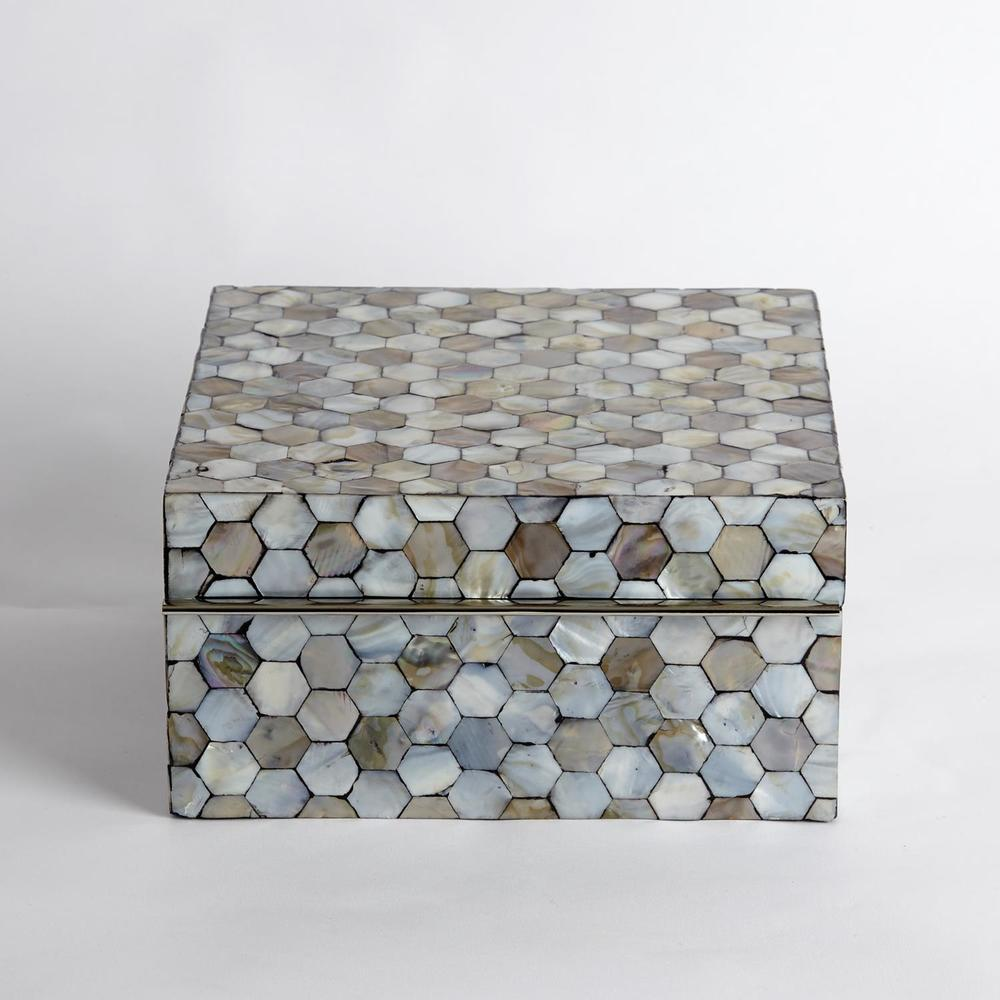 Global Views - Mother of Pearl Box