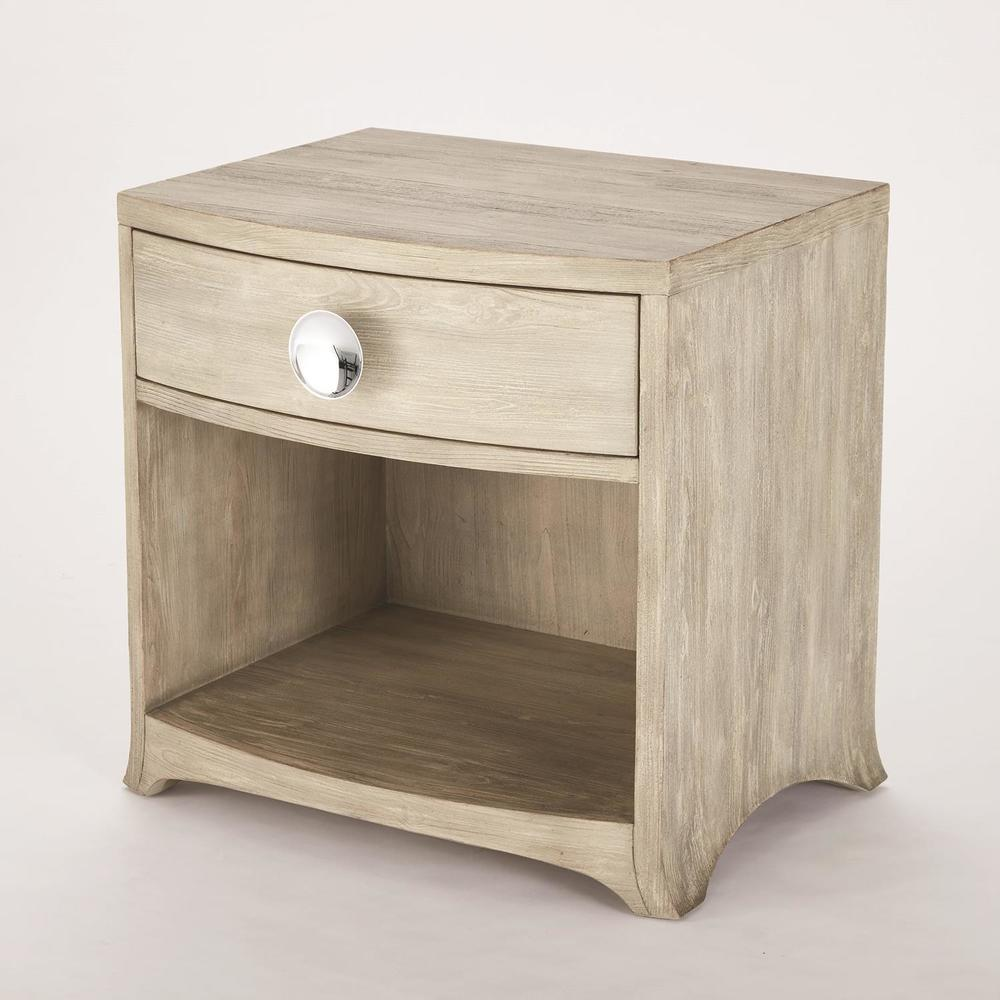 Global Views - Bow Front One Drawer Chest