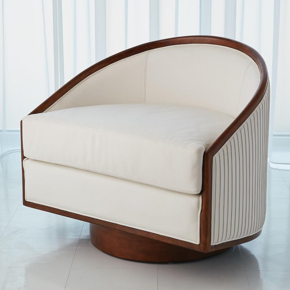 Global Views - Swivel Chair