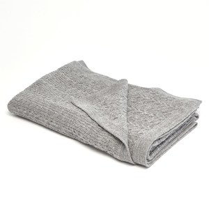 Thumbnail of Global Views - Cable Knit Alpaca Wool Throw