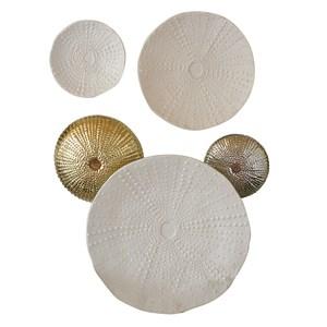 Thumbnail of Global Views - Ceramic Urchin Platter, Matte White, Medium