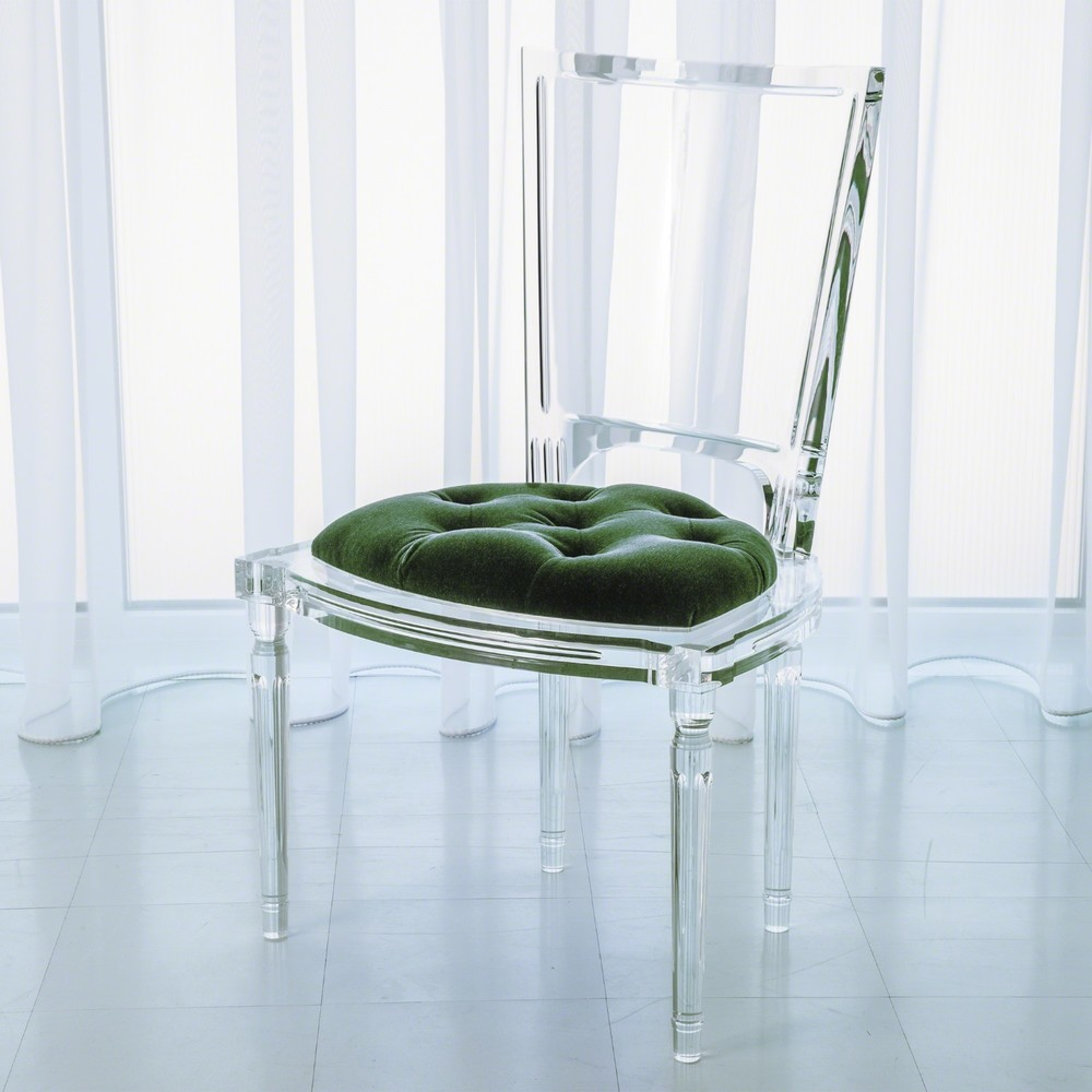 Global Views - Marilyn Acrylic Side Chair