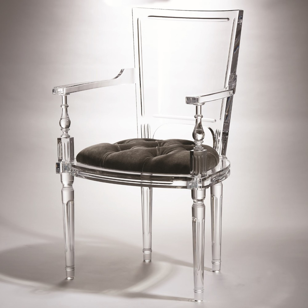 GLOBAL VIEWS - Marilyn Acrylic Arm Chair