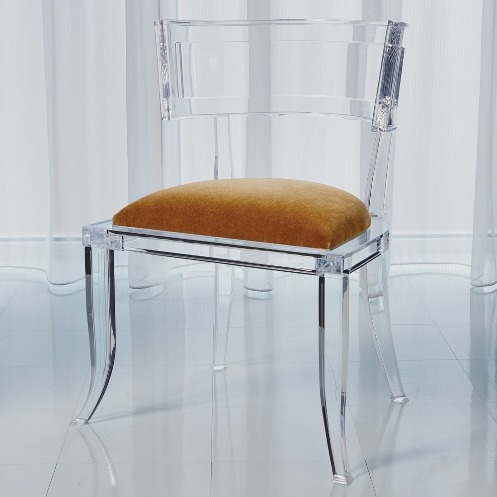 Global Views - Klismos Acrylic Chair