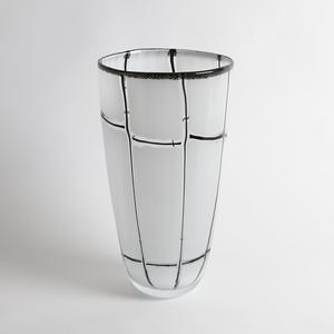 Thumbnail of Global Views - Abstract Grid Vase