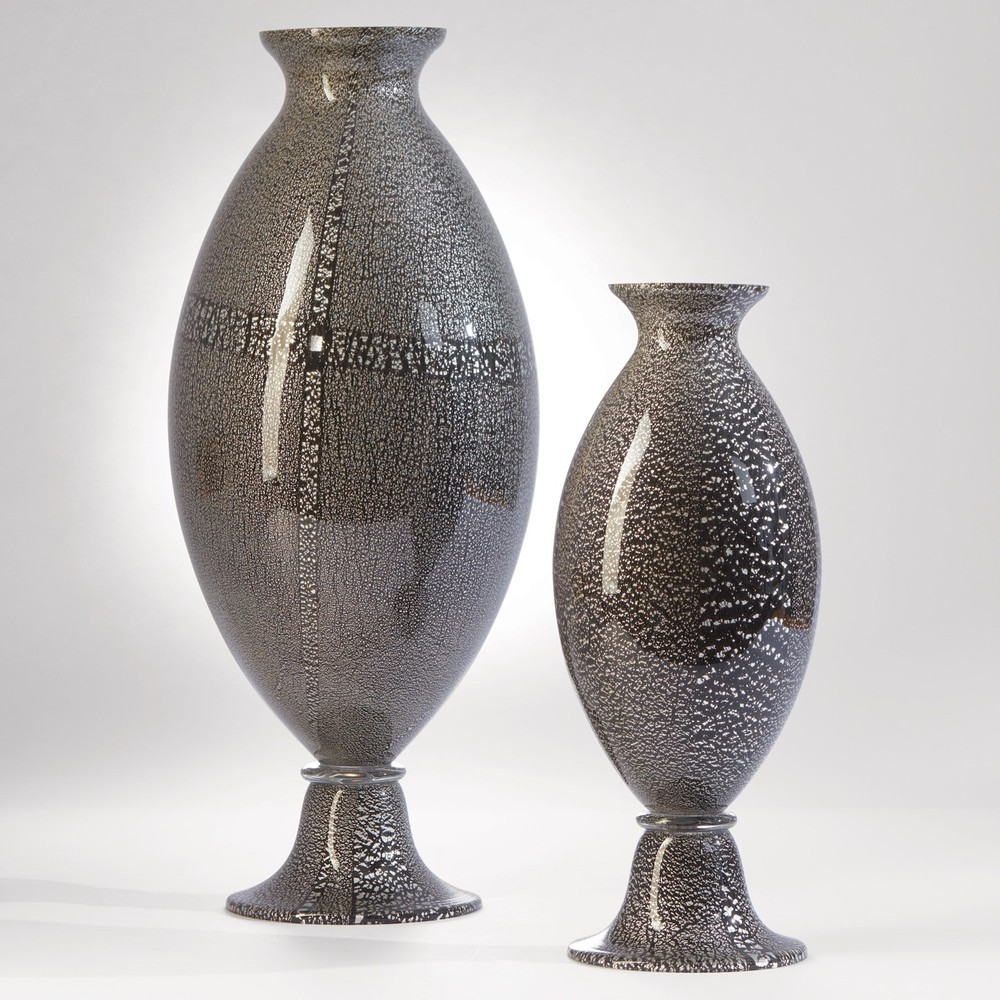 GLOBAL VIEWS - Argento Nero Urn