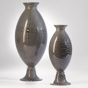 Thumbnail of GLOBAL VIEWS - Argento Nero Urn