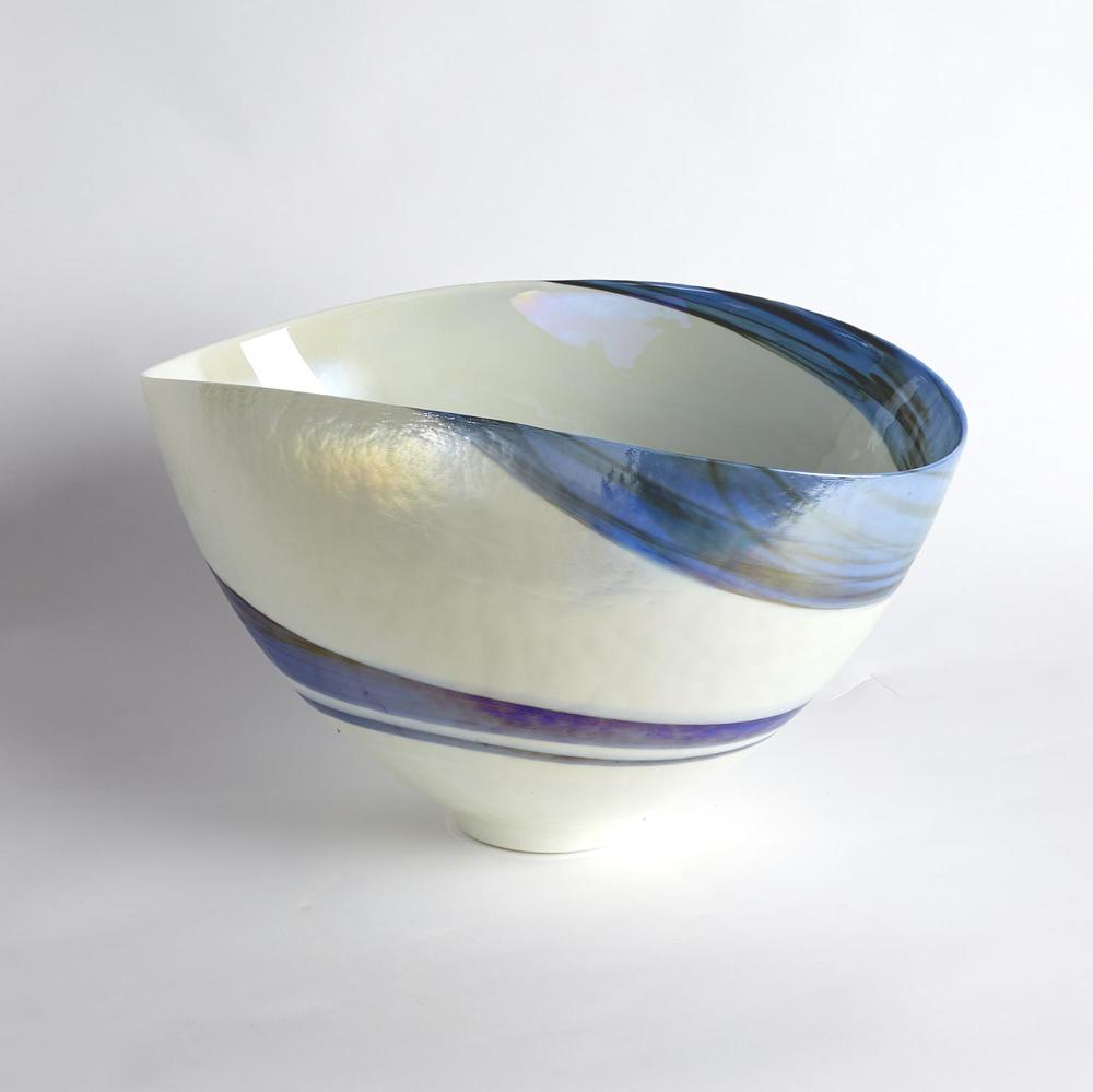 Global Views - Ocean Swirl Bowl