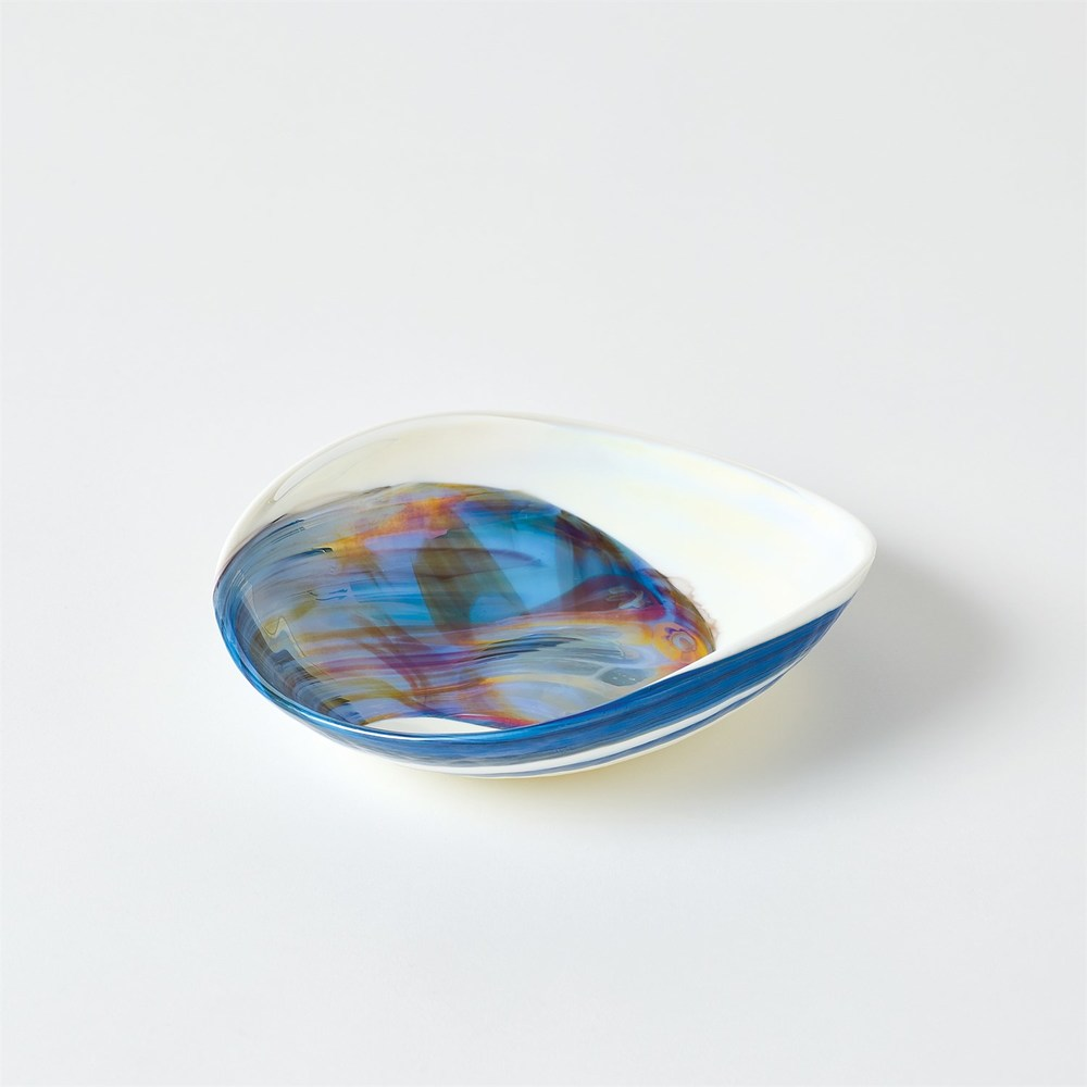 Global Views - Ocean Swirl Bowl