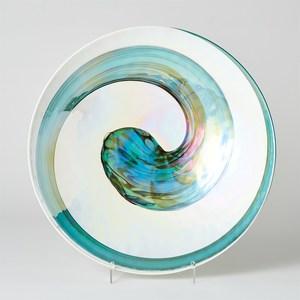 Thumbnail of Global Views - Aqua Swirl Charger