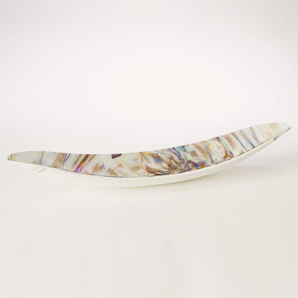 GLOBAL VIEWS - Ivory Spiral Gondola Bowl