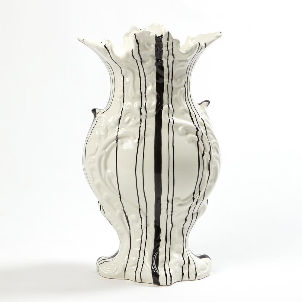 GLOBAL VIEWS - Barcode Vase