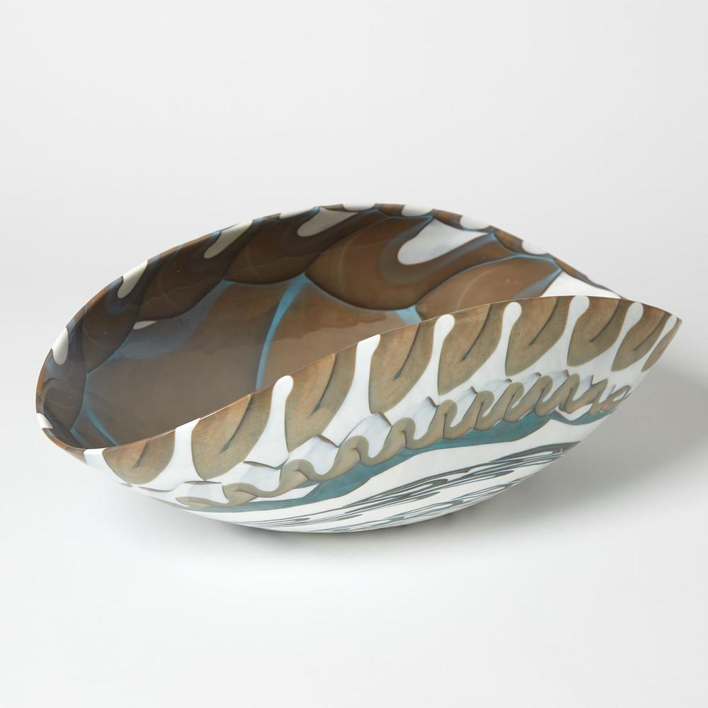Global Views - Oval Folded Bowl