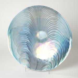 Thumbnail of Global Views - Feather Swirl Centerpiece Bowl/Charger
