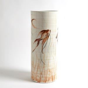 Thumbnail of Global Views - Hand Painted Goldfish Vase, Large
