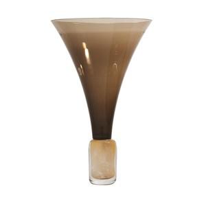 Thumbnail of Global Views - Golden Smoke Trumpet Vase
