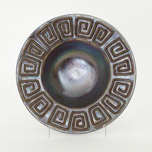 Thumbnail of GLOBAL VIEWS - Greek Key Bowl