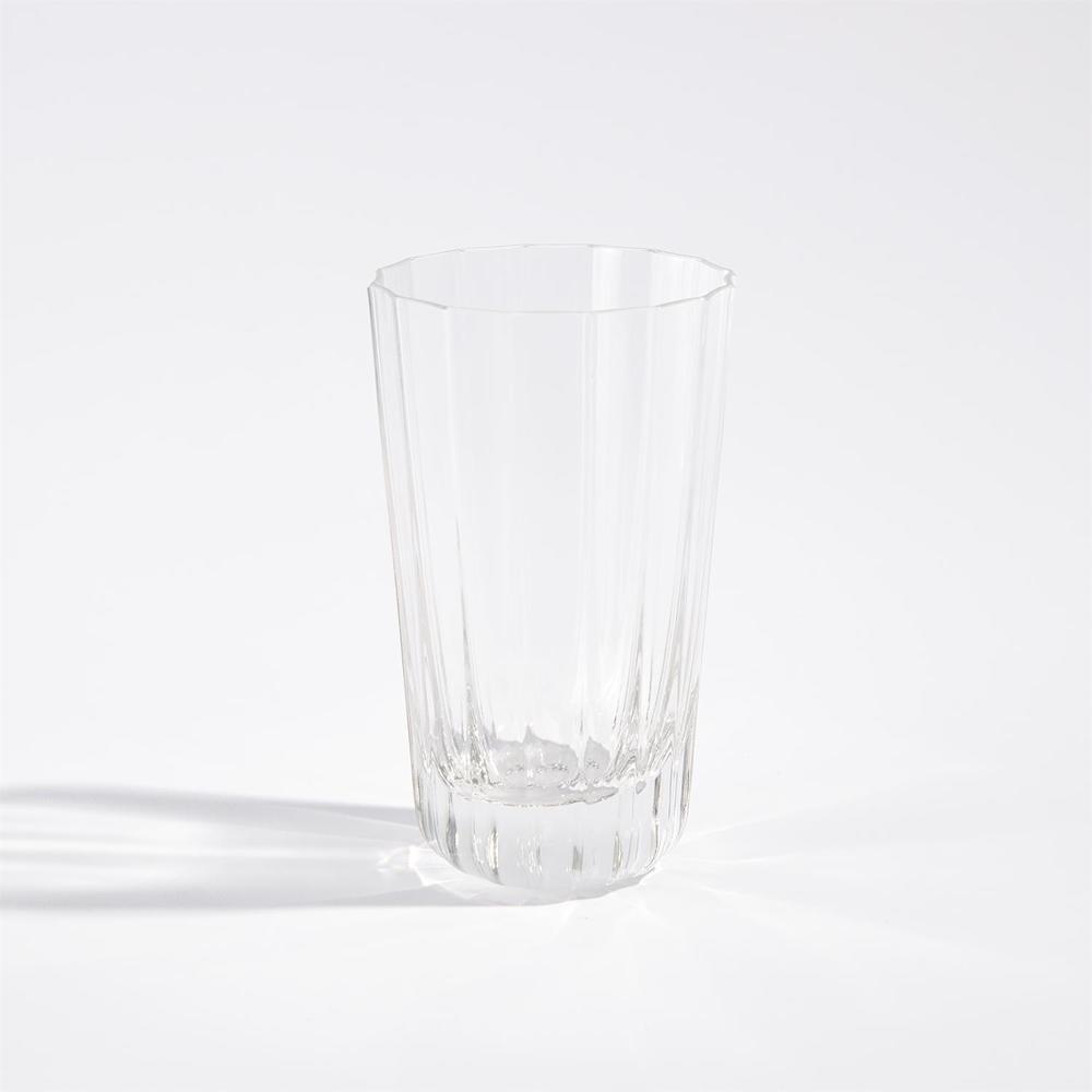 Global Views - Fluted Glass, Highball